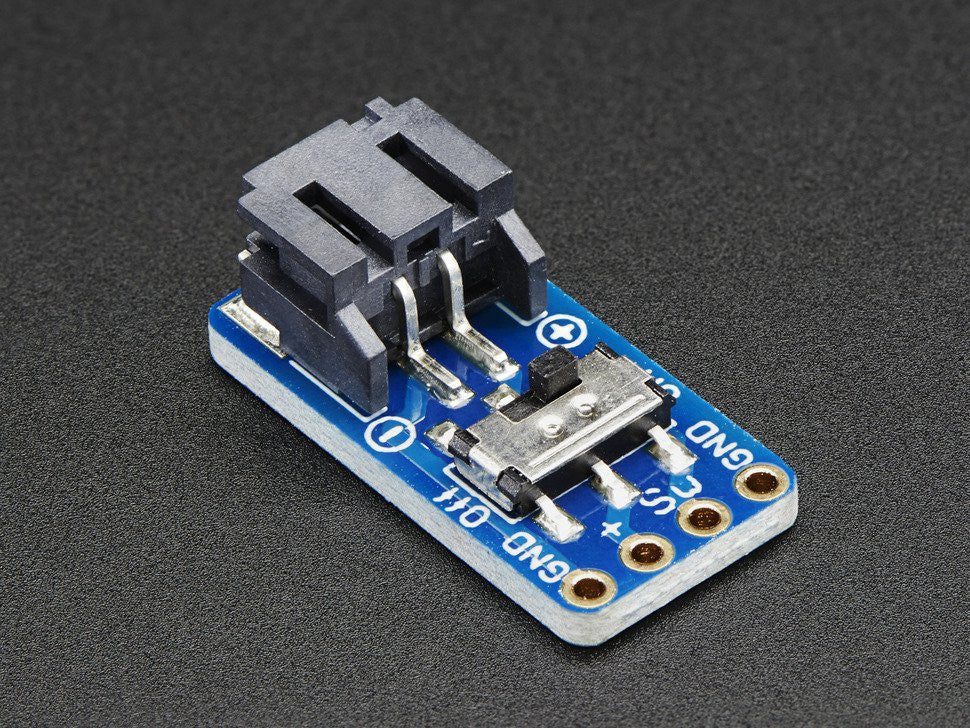 Switched JST-PH 2-Pin Breakout Board