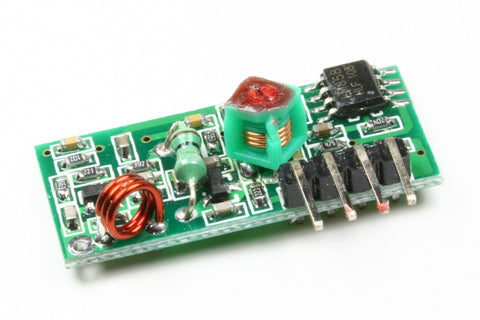 433 MHZ TRANSMITTER AND RECEIVER MODULES
