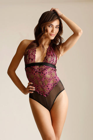 Purple Reign Bralette, Cincher and Panty