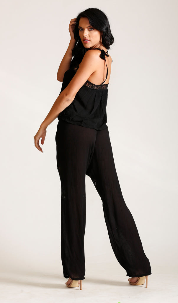 Moonlight Gauze Drawstring Pant