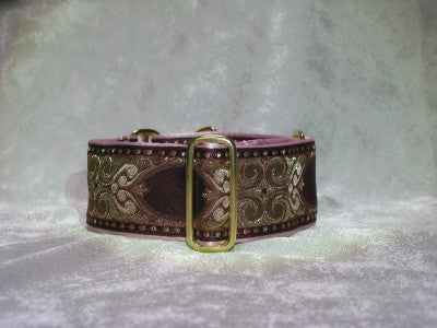 Dog Collars for small or large dogs - Woven Jacquard Prints