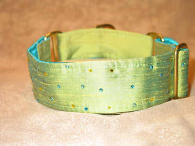 Asian Silk Collars