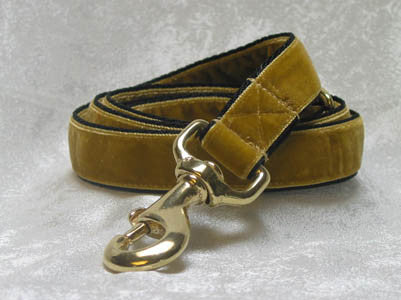 Dog Leashes > Swiss Velvet Fabrics: Adjustable Length