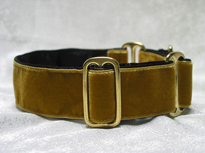 Dog collars for small or large Dogs - Swiss Velvet