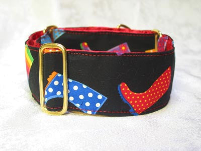 Dog collars for small or large Dogs - Fun Prints