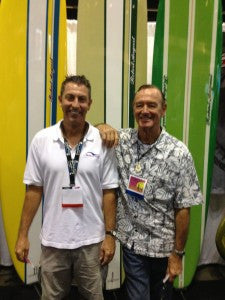 Met Surfing Legend at 2014 Surf Expo!