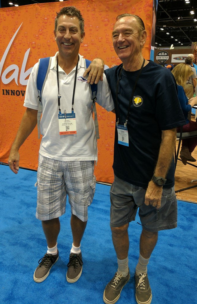 Meeting Robert August at January Surf Expo 2017