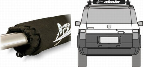 FADE PROOF Aero Split Bottom Roof Rack Pads