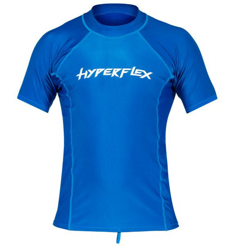 HyperFlex Mens Short Sleeve Lycra Rashguard