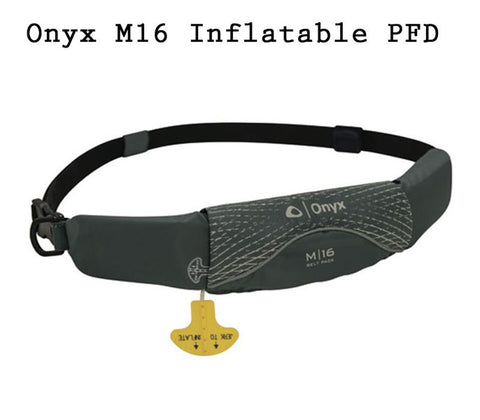 ONYX M-16 Inflatable Personal Flotation Device PFD