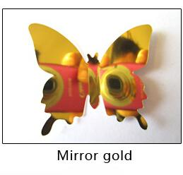Flying Butterflies Mirror Wall Decor