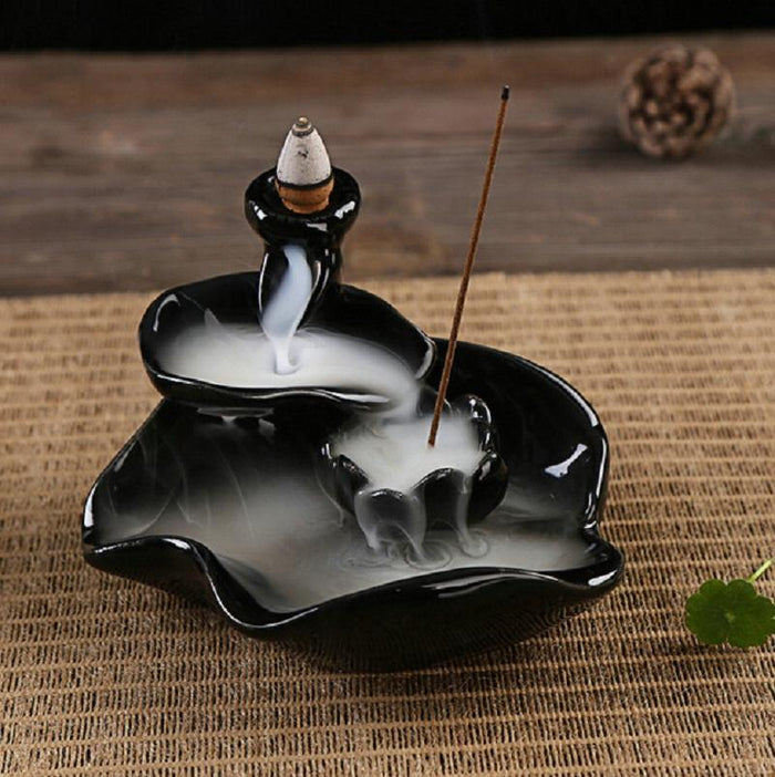 Incense Lotus Fountain