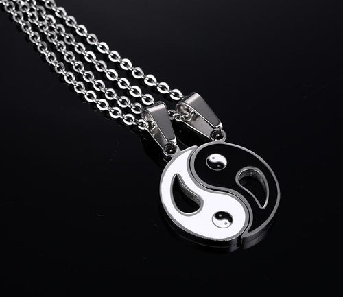 Yin Yang Couples Necklace