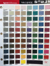 Colour Chart for Kor Tables