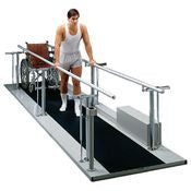 Tri W-G Bariatric Motorized Parallel Bars