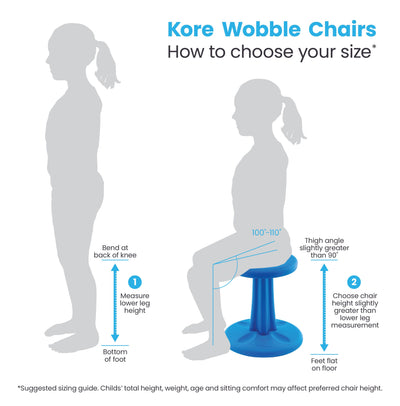 (16.5″-24″) Kids Adjustable Tall Wobble Chair