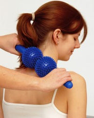 Spiky Twin Massage Roller