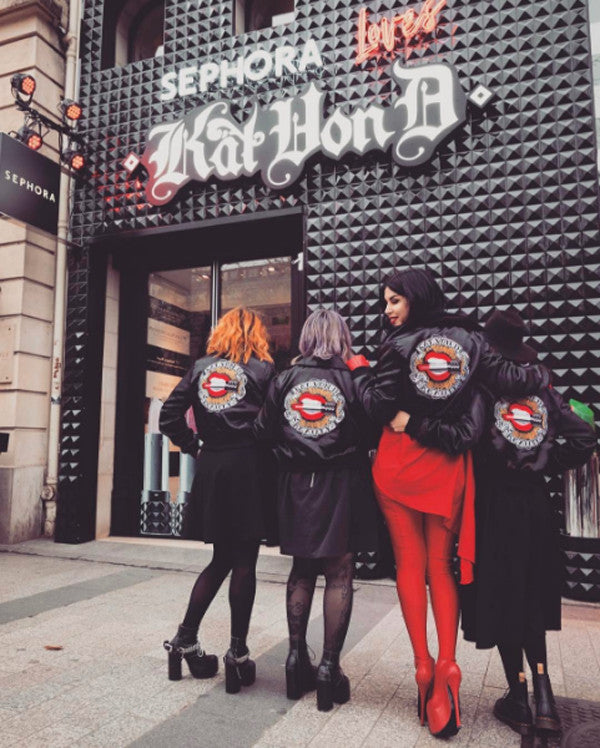 Kat von D team jackets by Jessica Louise