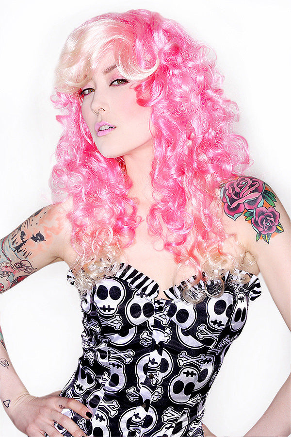 Pink Wig Costume