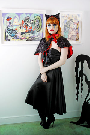 Vampires Kiss Evening Dress - shopjessicalouise.com