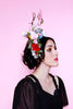 Jessica Louise Antler Flower Crown Vegan antlers
