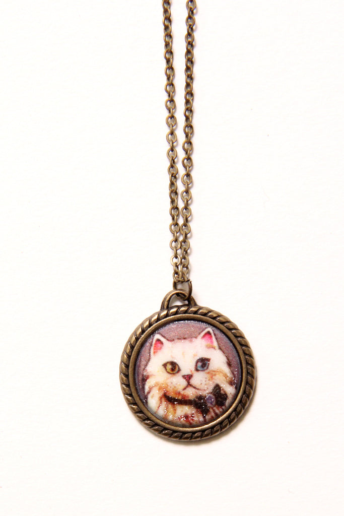 Cats & Rabbit Necklaces - shopjessicalouise.com