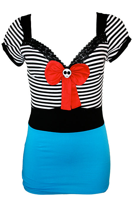 Sailor Girl Pinup Top - shopjessicalouise.com