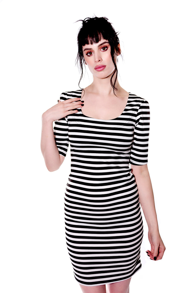 Back to basics Classic Striped Dress - shopjessicalouise.com