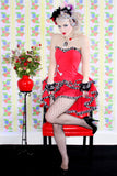 Coquet Burlesque Dress - shopjessicalouise.com