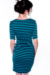 Back to basics Colored Striped Dress - shopjessicalouise.com