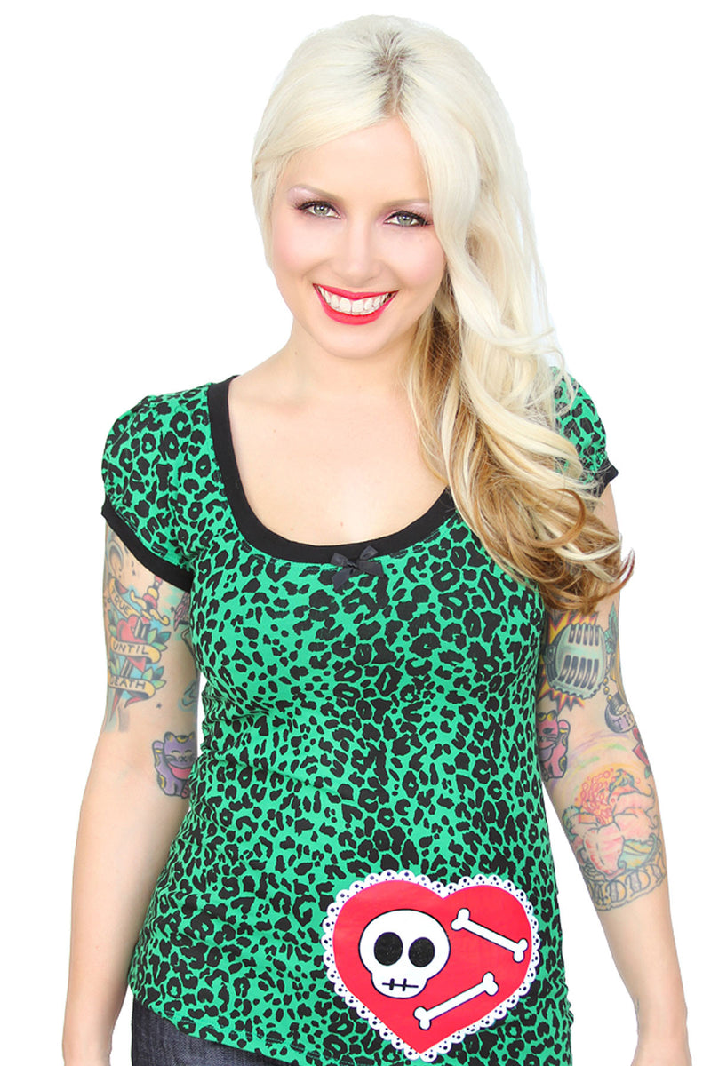 Be Mine Cap Sleeve top - shopjessicalouise.com