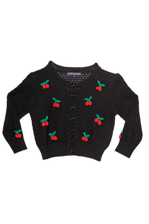 Cotton Cherry Crochet Cardigan - shopjessicalouise.com