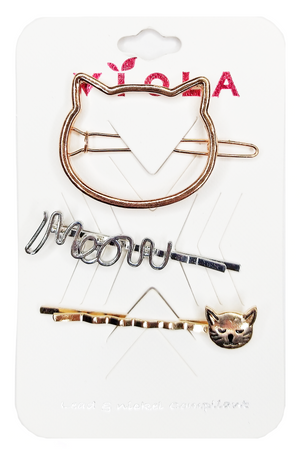 cat themed hair accessories