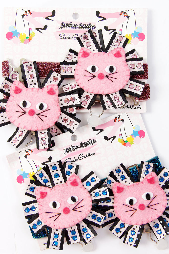 Limited Edition Cat Sock Garters - shopjessicalouise.com