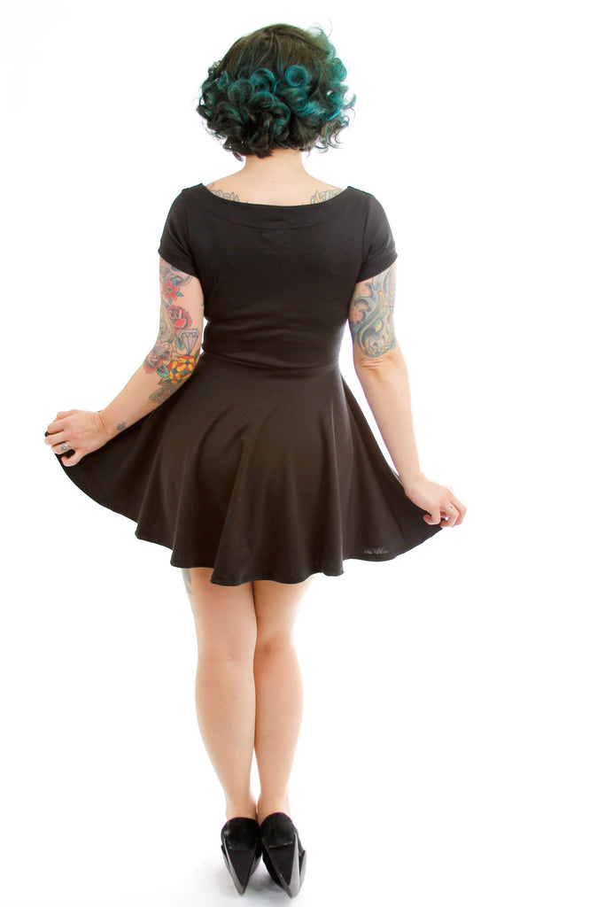 Jacqui Pointed Collar Dress - shopjessicalouise.com