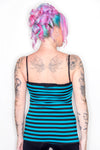Avril Striped Skull Tank - shopjessicalouise.com