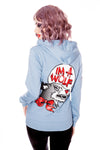Im a wolf blue hooded sweatshirt by Jessica Louise