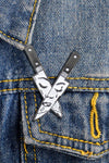 Horror Knives Enamel Pin