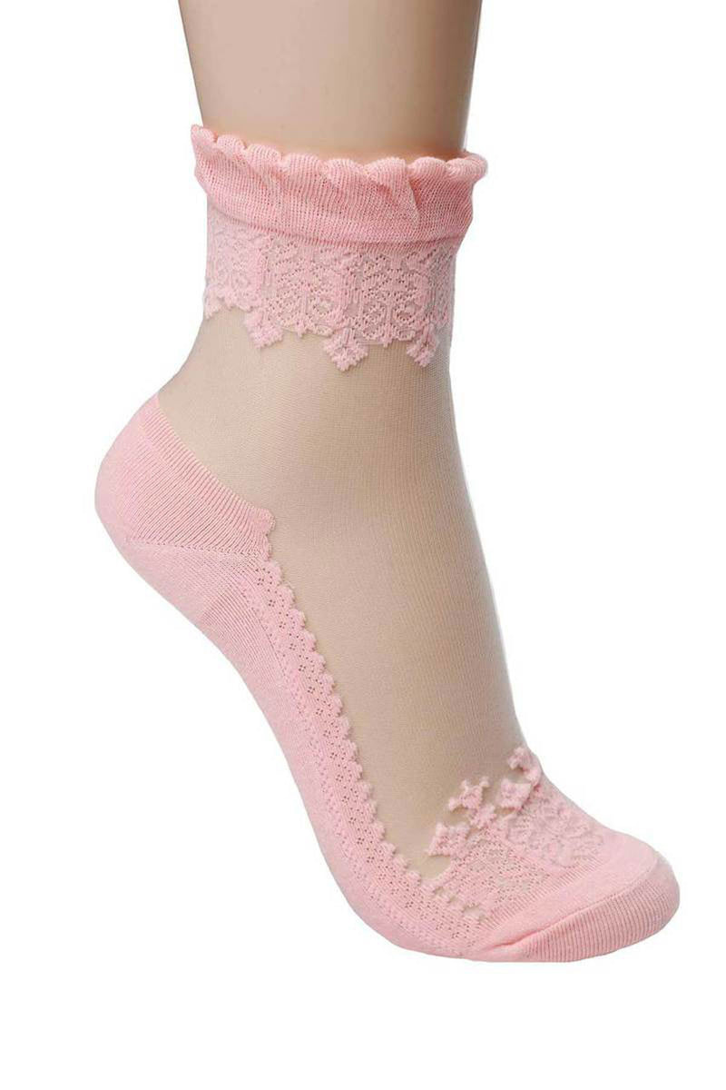 Transparent Lady socks - shopjessicalouise.com