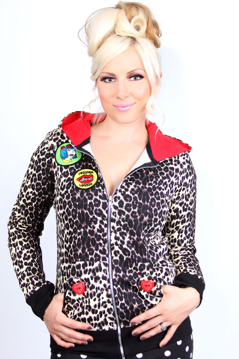 Leopard Vampire Hoodie - shopjessicalouise.com