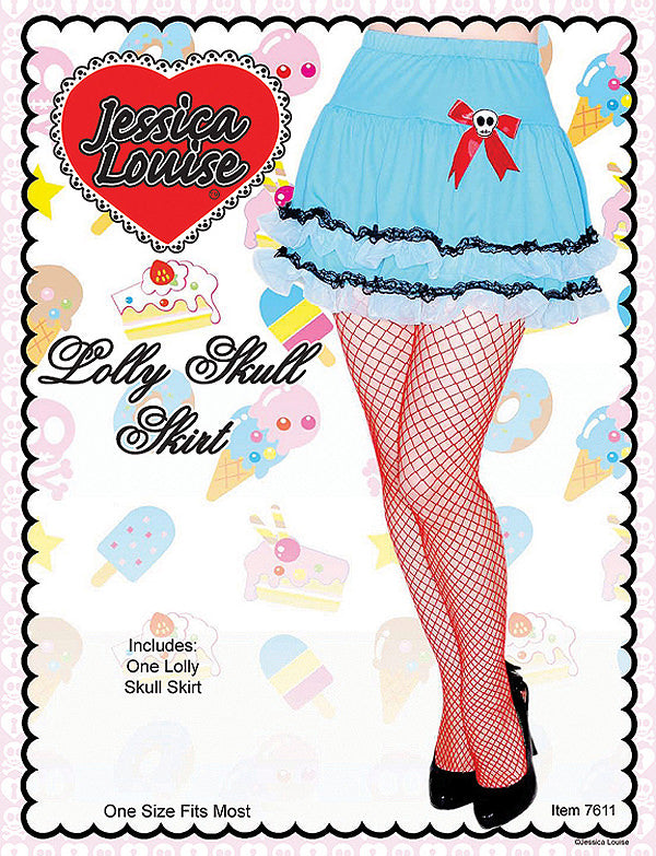 Lolly Skull Costume Skirt
