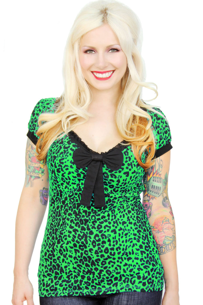 Lulabelle Colored Leopard Top - shopjessicalouise.com