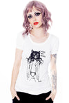Make me roar -cotton tee by jessica louise