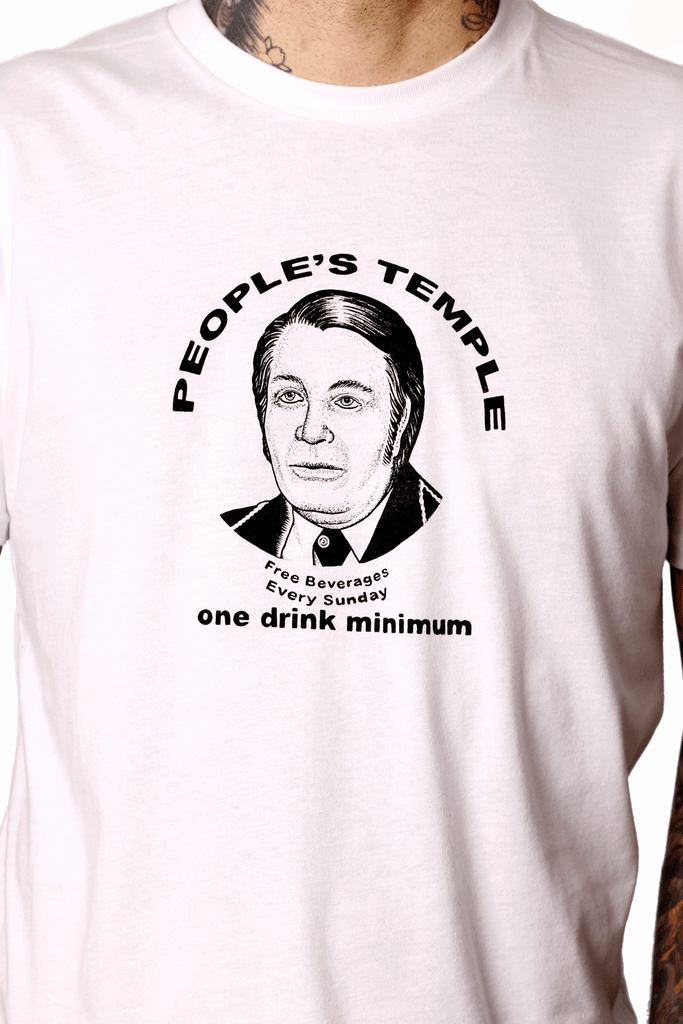 One Drink Minimum Jim Jones Tee - shopjessicalouise.com