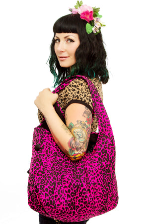 Leopard Overnight Bag - shopjessicalouise.com