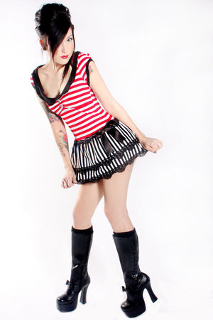 Jessica Louise Pirate Punk Dress - shopjessicalouise.com