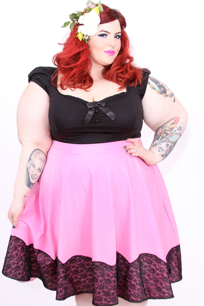 Cupcake Scallop Skirt Plus Size - shopjessicalouise.com