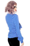 Polka Dot long sleeve Bow blouse - shopjessicalouise.com