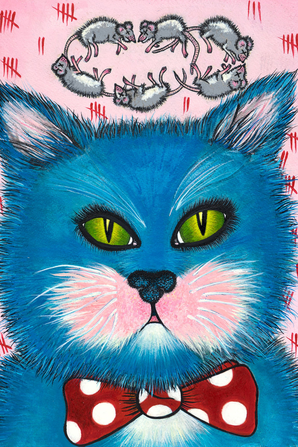 """Richard the mouser "" 12x16 Giclee Print - shopjessicalouise.com"