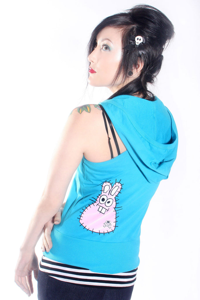 Rabbit Hooded Vest - shopjessicalouise.com